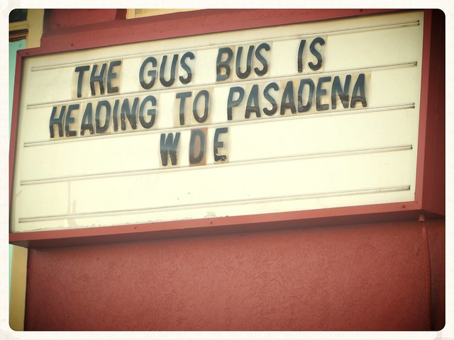 349.365 {Gus Bus Going To Pasadena}