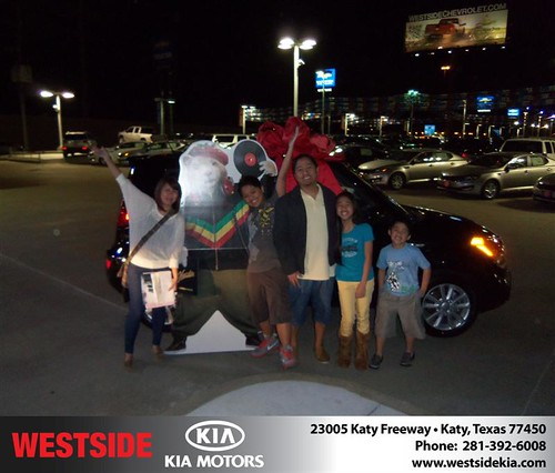 Happy Anniversary to Janice Aldaba on your 2013 #Kia #Soul from Zachary Randall  and everyone at Westside Kia! #Anniversary by Westside KIA