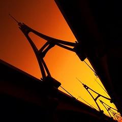 A #dubai #mydubai #silhouette #bridge #DOSC