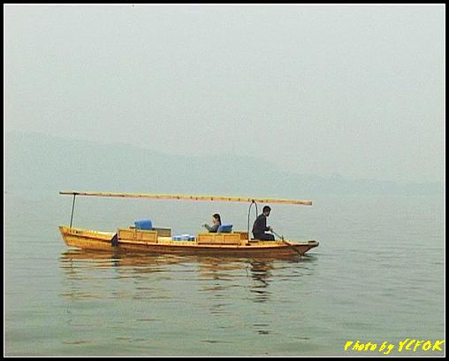 杭州 西湖 (其他景點) - 608 (西湖十景之 柳浪聞鶯 西湖上的小遊船)