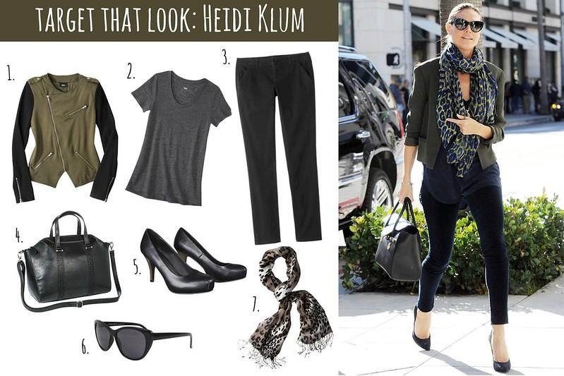Target That Look: Heidi Klum