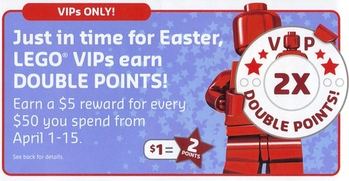 April 2014 Double VIP Points