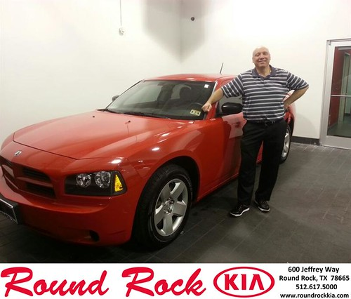 Thank you to Dan St John on your new 2008 #Dodge #Charger from Rudy Armendariz and everyone at Round Rock Kia! #NewCar by RoundRockKia