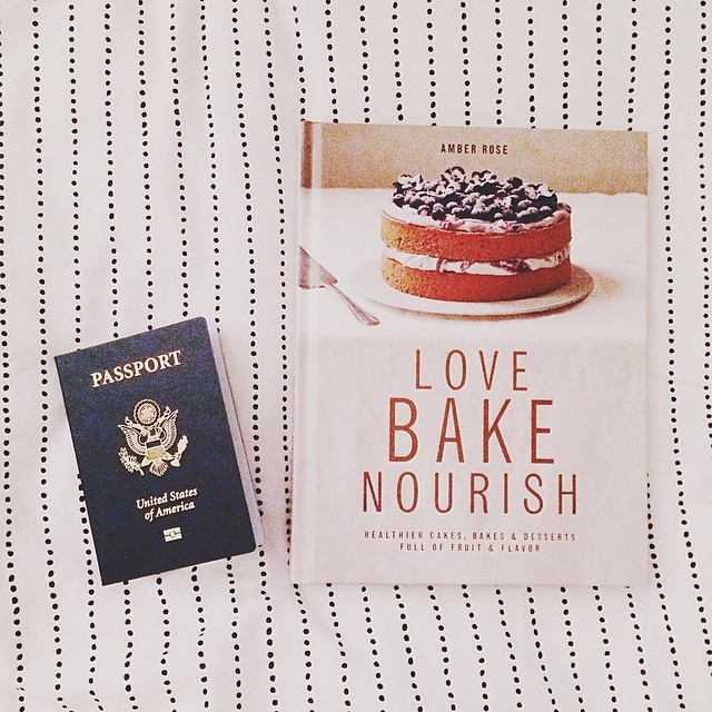 Definitely one of the best mail days ever: my very first passport arrived (photo accepted!) and received a free review copy of the most gorgeous baking book Love Bake Nourish.  @wild_delicious you are my baking HERO.