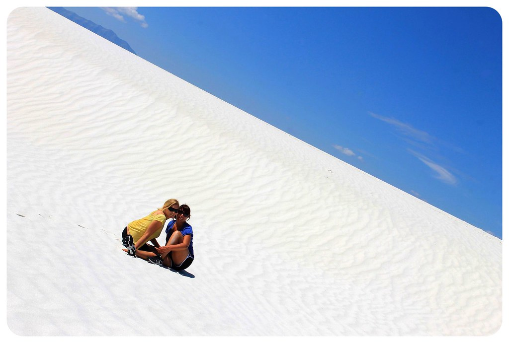 White Sands New Mexico dani and jess