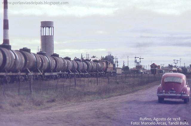 Estación Rufino, Agosto 1978