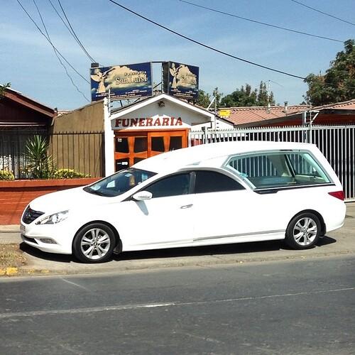 Hyundai Sonata Hearse - Santiago, Chile