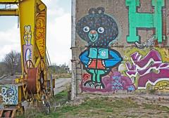 Graffiti en Gante: Koopvaardijlaan (Interbeton)