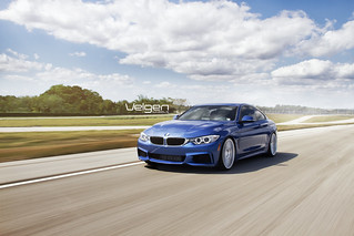 BMW 435I M Sport on Velgen Wheels VMB7
