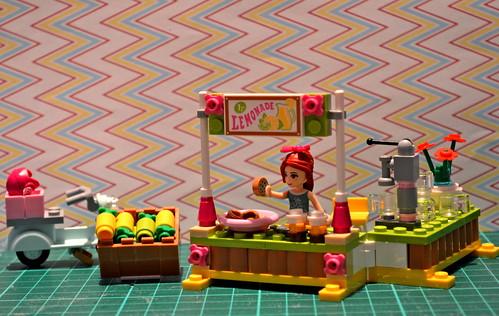 Mia's lemonade stand