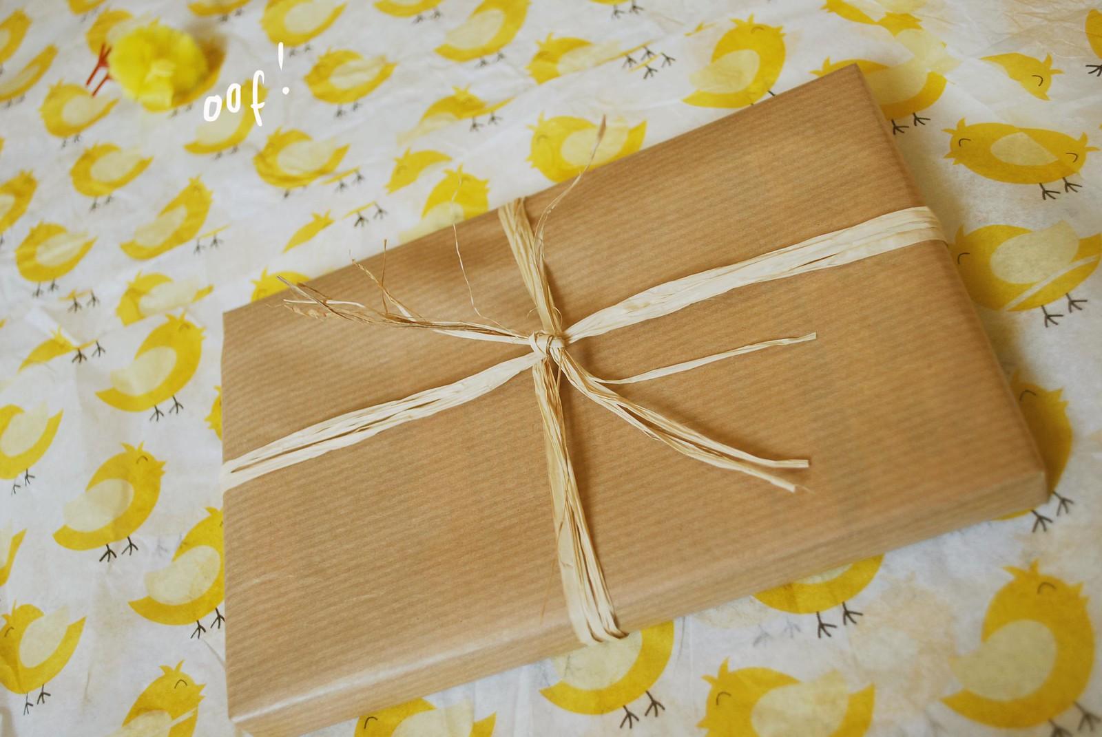 raffia for giftwrap