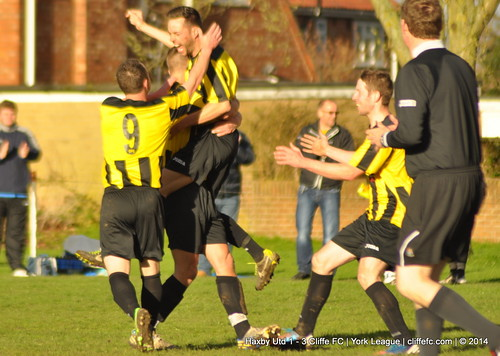 Cliffe FC 3 - 1 Haxby Utd 7Apr14