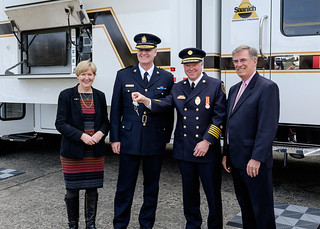 $750,000 supports purchase of a new emergency vehicle