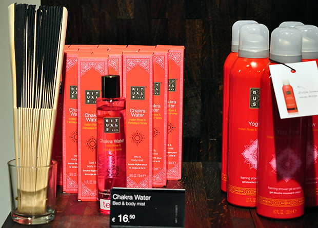 stylelab beauty blog rituals new products spring 2014 Ayurveda chakra water