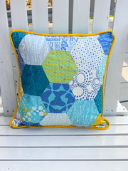 Hexagon Pillow Project