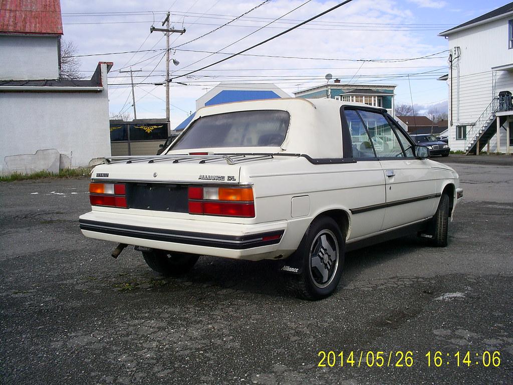 Renault Alliance DL 1987 14092421447_e0260d7f3b_b