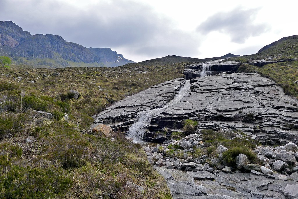 Waterfall below Sgurr Dubh