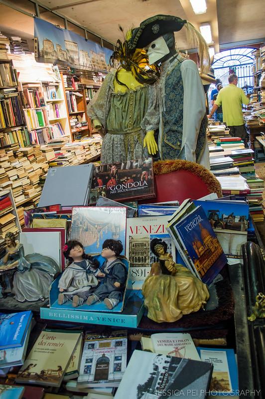 Libreria Acqua Alta di Frizzo Luigi, Venice