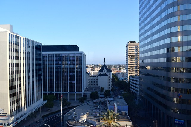 View from The Line Hotel, Koreatown