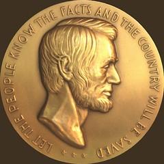 30-52-O Lincoln medal