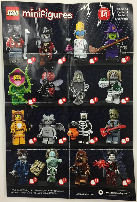 LEGO Collectible Minifigures Series 14: Monsters (71010)