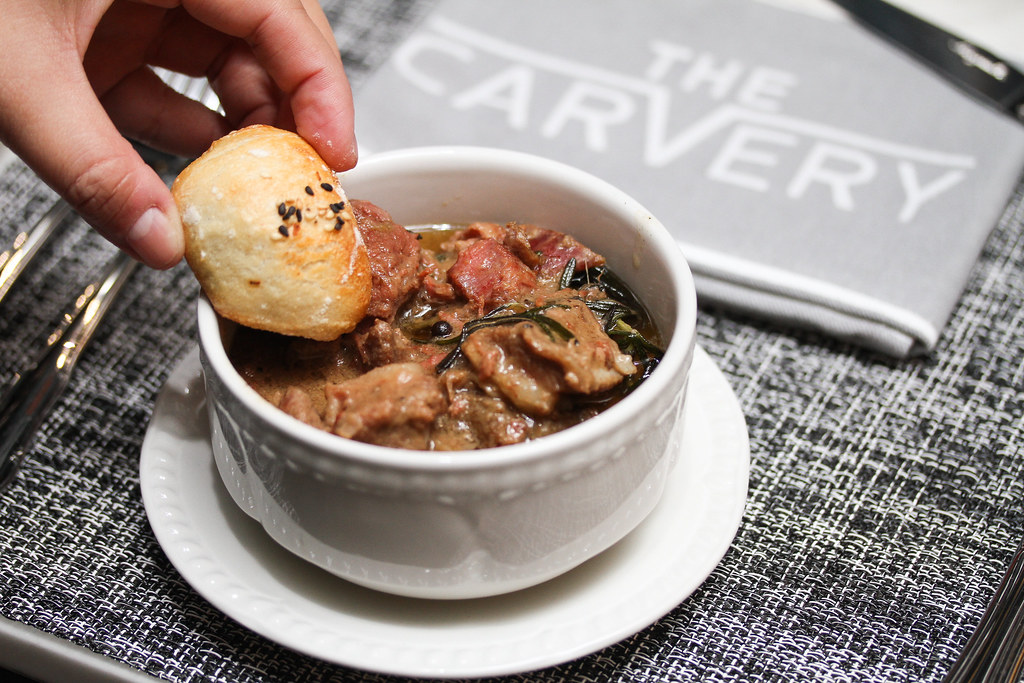 The Carvery: Coq Au Vin, Lamb Stew