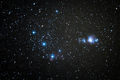 Orions Belt and Orions Sword