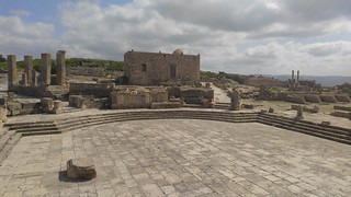 Square of the Rose of the Winds, Dougga