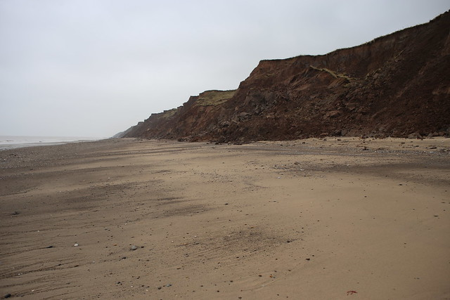 The coast near Kilnsea