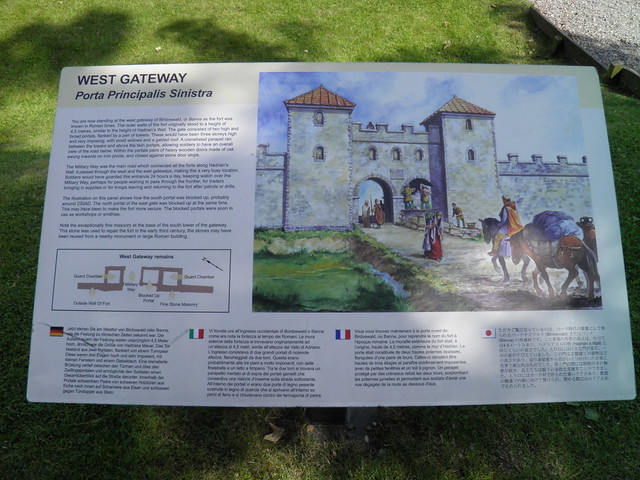 Birdoswald Roman Fort, Hadrian's Wall