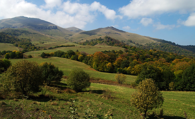 Autumn hills of Lori province