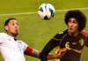 Clint Dempsey and Marouane Fellani