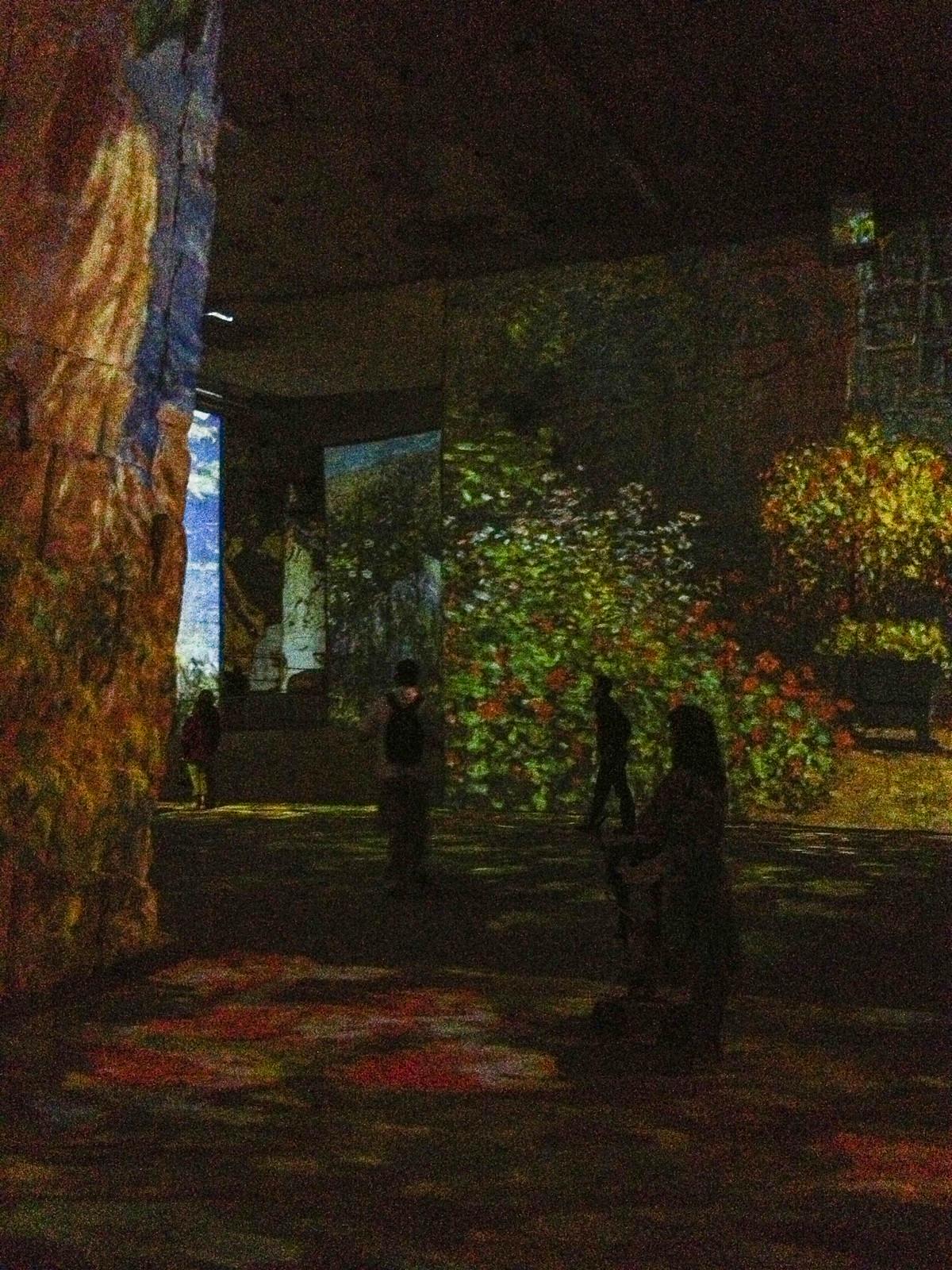 Les Baux de Provence - Carrière de lumière
