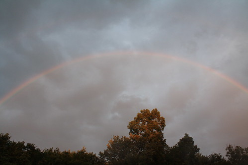New England Dusk Rainbow Horizontal