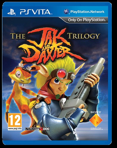 The Jak and Daxter Trilogy_2D pack_PS VITA_PEGI