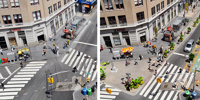 Before and After: Union Square