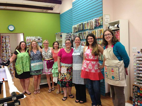 Denver Quilt Guild Apron Swap