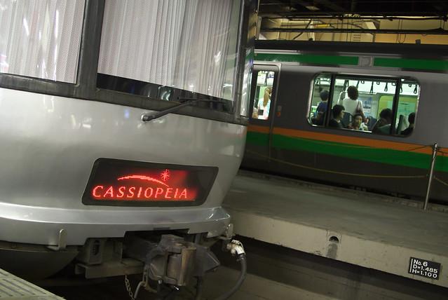 寝台特急カシオペア Tokyo Train Story 2013年6月