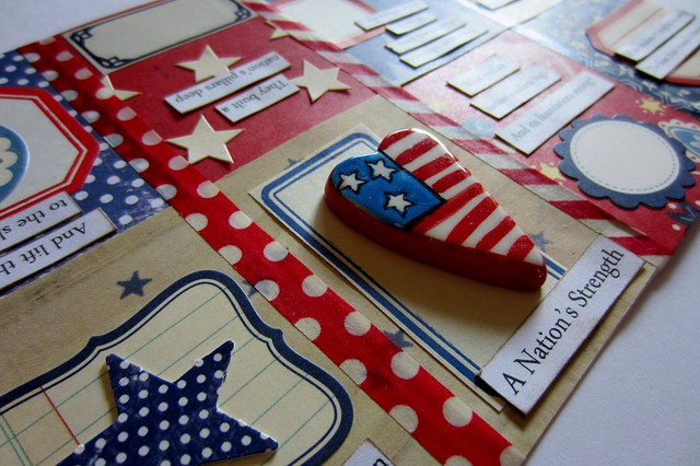 Red, White, & Blue Tiny Book 1