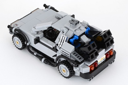21103 Cuusoo Back To The Future DeLorean