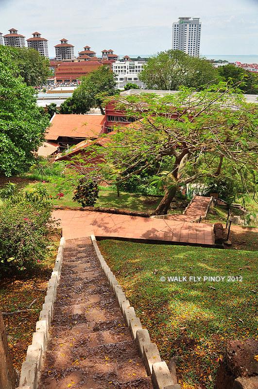 St. Paul's Hill, Malacca, Malaysia