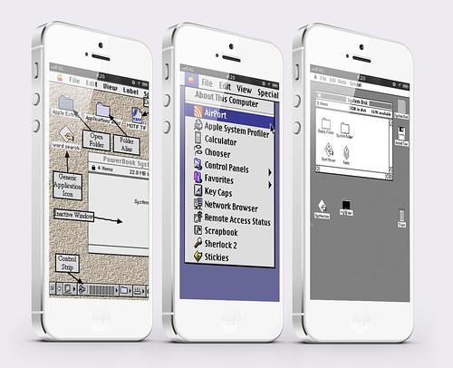 iOS7はMac風