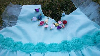 bodice with trim