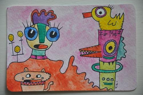 Quack, Quack, I Saw a Cat (colour)