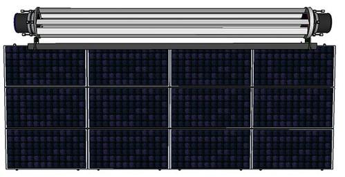 Ветрогенератор Cleantec Wind гармонично дополняет солнечные панели