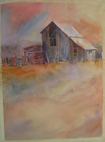 88 Barns vertical version by luv2draw