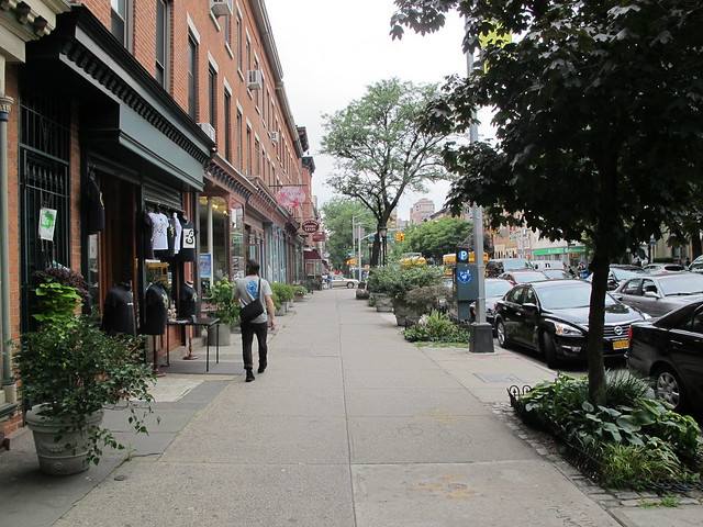 Atlantic Avenue between Bond and Nevins Streets, Boerum Hill