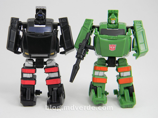 Transformers Hoist Legends - Generations GDO - modo robot vs Trailbreaker