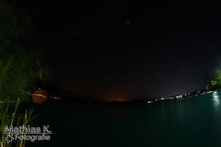 Faaker-See bei Nacht