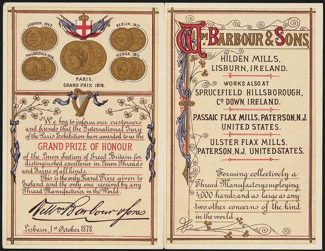 Barbour's linen thread [inside]   Flickr - Photo Sharing!